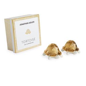 Produktbild, sköldpaddor med gyllene skal.